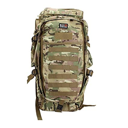 1ec80fa84fab Amazon.com: LJL Trendy Style Multi-Functional Tactical Backpack 600D ...