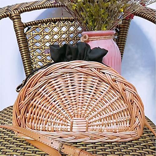 Hombro empapado de de Bolsa Mensajero pequeño para Sumferkyh Playa del la Redondo de Bolso la la Laptop Bolsas Femenino de Rota portátil Rota 7P5gFqxw