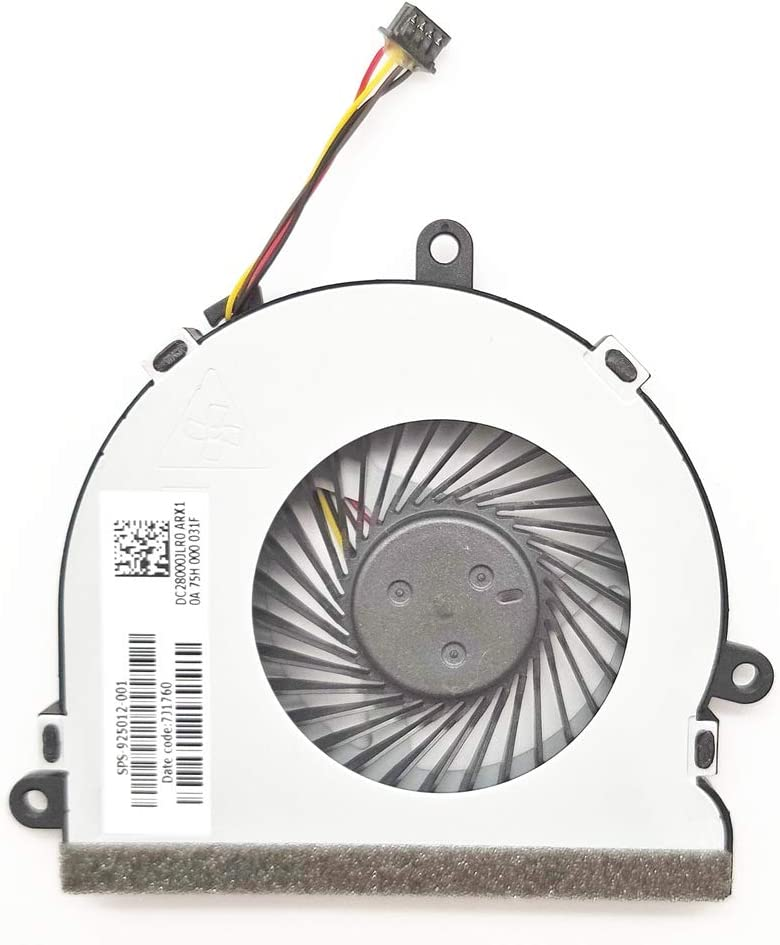 New For HP 15-AC 15-AF 250 G4 255 G4 15-AY 15-BA series laptop Cpu Cooling Fan