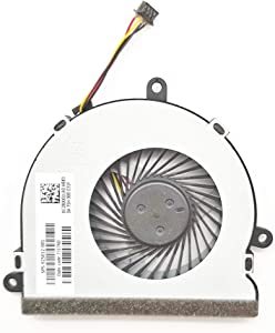 Lee_Store Replacement CPU Cooling Fan for HP 250 G4 255 G4 15-AC 15-AF 15-AC 15-AY 15-AF 15-BA 15-BS 15-BE 15-BF 15-BD 15-BW Series 4Pin 4Wire SPS 813946-001 DC28000JLR0 FN0565-A1033L2AL DC5V 0.45A