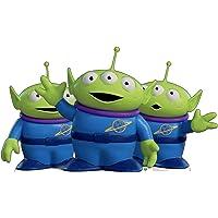 Advanced Graphics Disney Pixar Toy Story 4 Life Size Cardboard Cutout Standups, cardboard, Aliens, One Size