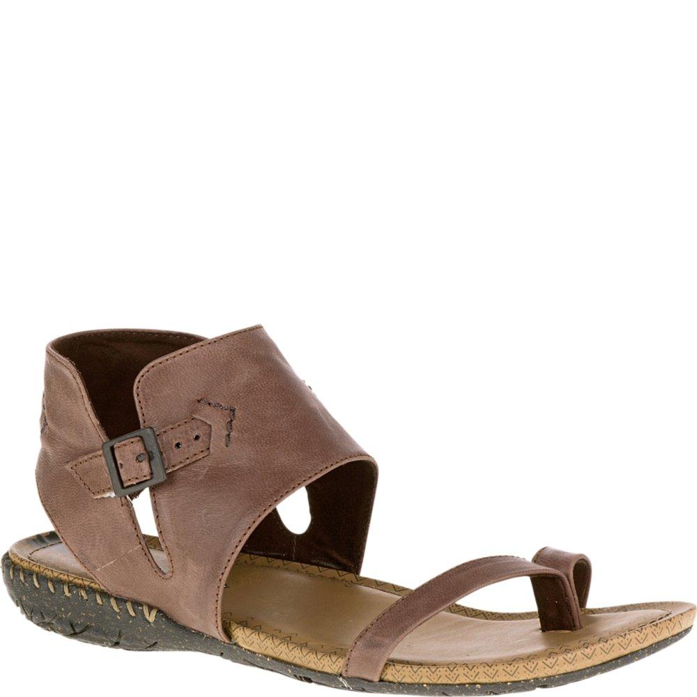 Merrell Women's Whisper Post Sandal, Brown, 11 M US