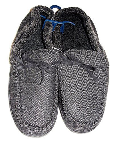 Slippers Pipeline Men Gray Urban Herringbone Gray Moccasin wqAAIf