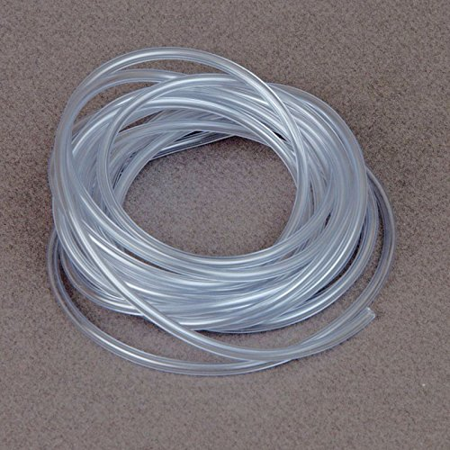 (30' Feet) Clear Gas Fuel Line Tubing RC Remote Control Car Truck Tank Motorcycles Boat Airplanes Helicopters 1/8