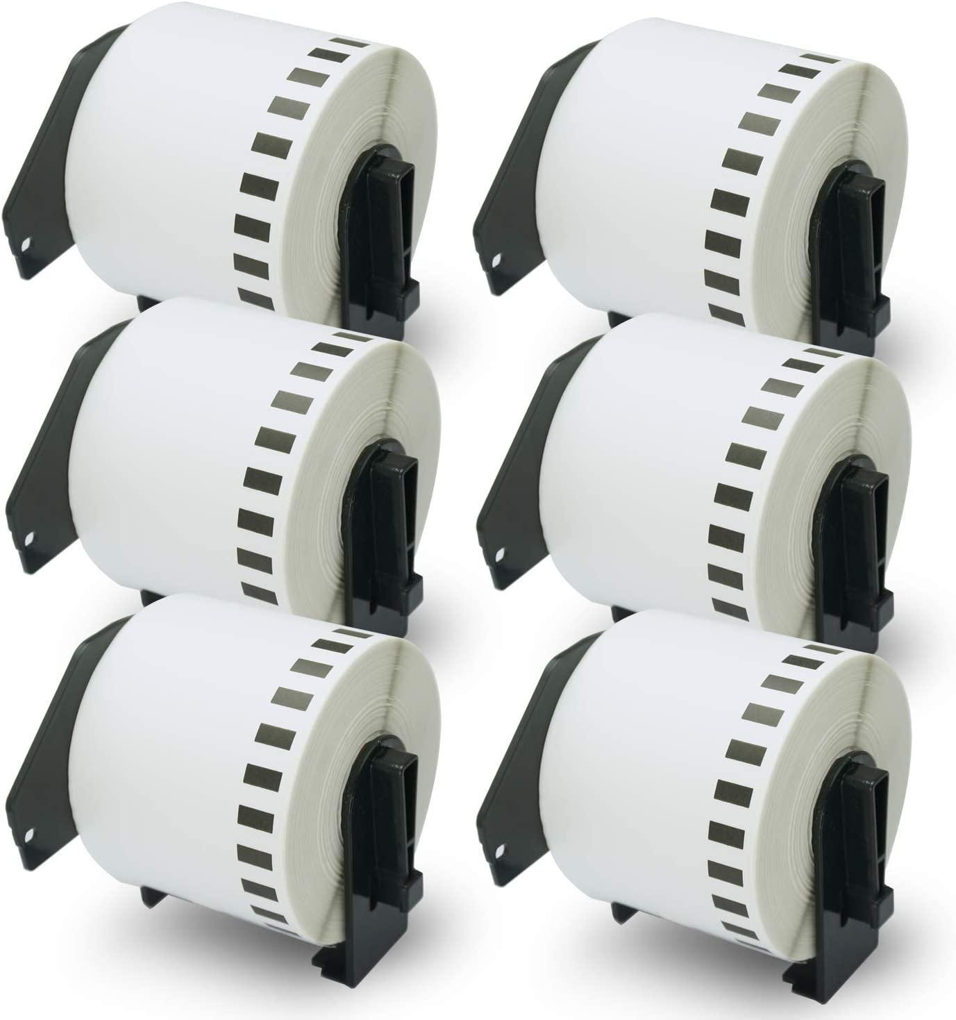 20 x Brother Compatible DK-22205 Printer Labels 62mm Roll+Spool for  QL-710W