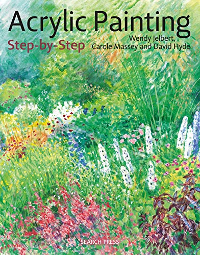 Acrylic Painting Step-by-Step: 22 Easy Modern Designs (Step-by-Step Leisure Arts) (Easy Acrylic Paintings For Beginners Step By Step)