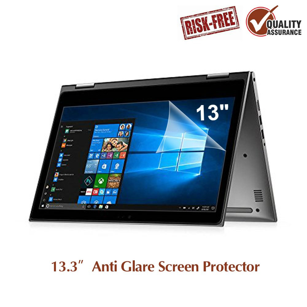 """2 Pack 13.3"""" Anti Glare Screen Protector Compatible with 13.3'' Dell Inspiron 13/13.3"""" ASUS Chromebook & ZenBook /13.3 Acer Chromebook R13 / 13.3"""" Lenovo Yoga 720"""