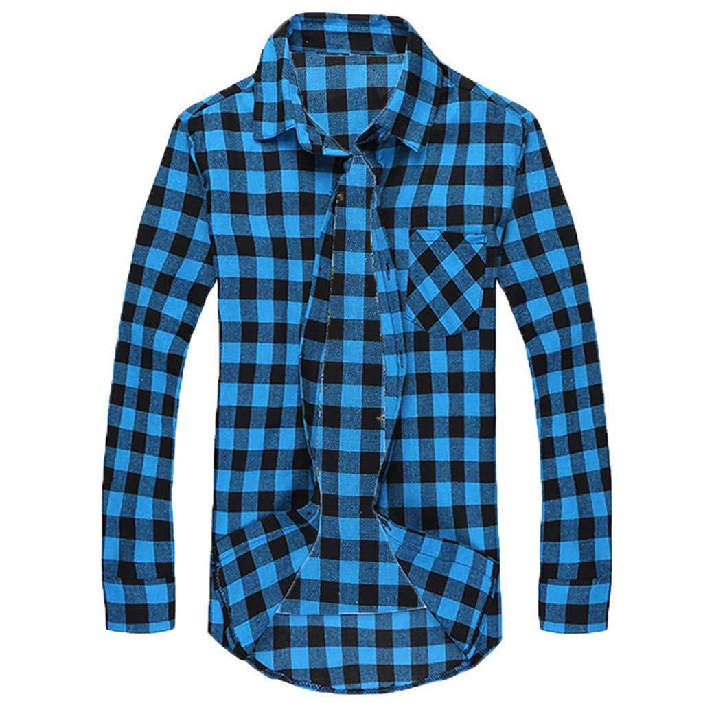Camisa T/éRmica Acolchada para Trabajo Camisa Franela de Cuadros Manga Larga para Hombre Camisa Informal de Manga Larga de Corte Entallado para Hombre Chaqueta de Le/ñAdor Chaqueta de Negocios C/áLida