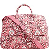 Vera Bradley Luggage Women's Grand Traveler Blush Pink Duffel Bag