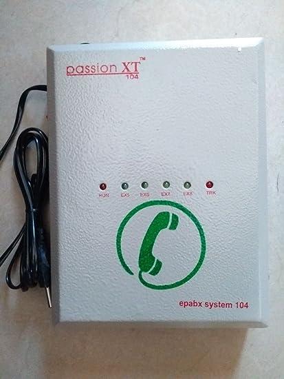 Swift EPABX Intercom System 104 for 4 line Intercommunication