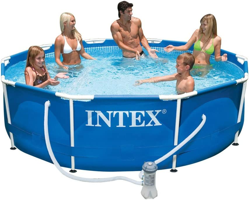Intex 56999FR - Piscina Tubular (Metal): Amazon.es: Jardín