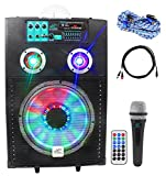 NYC Acoustics Active 12'' Karaoke Machine/System 4 ipad/iphone/Android/Laptop/TV