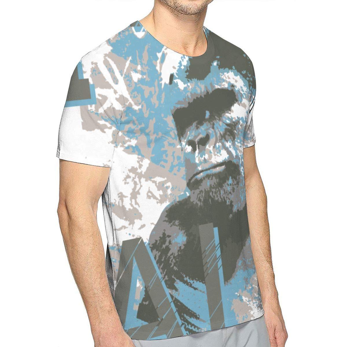 TIMQIJIAN Borneo Sumatran Orangutan Fan 100/% Cotton Crewneck Vintage Short Sleeve Adult Shirt