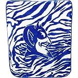 College Covers Duke Blue Devils Raschel Throw