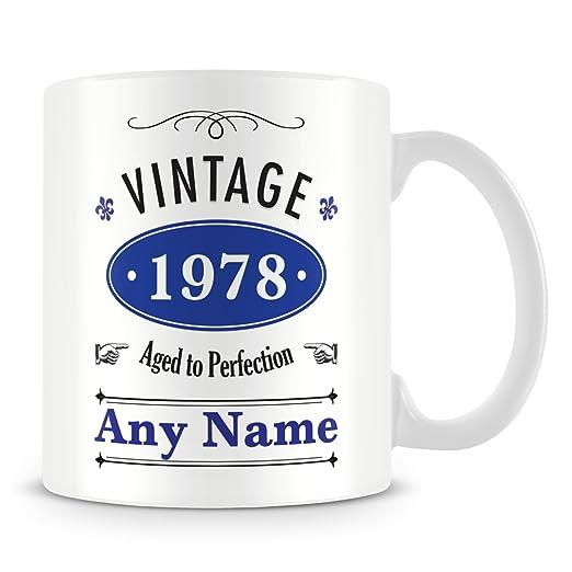 De 1975 (a partir de 40)/de la taza de la taza personalizada ...