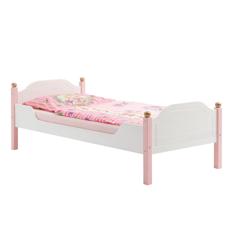 Amazonde Einzelbett Kinderbett Mädchenbett Bett Isabella Kiefer