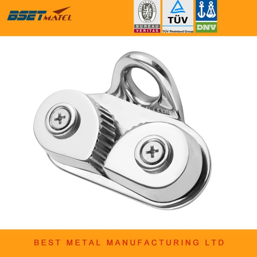 Ochoos Stainless Steel 316 Cam Cleat with Leading Ring Boat Cam Cleats Matic Fairlead Marine Sailing Sailboat Kayak Canoe Dinghy