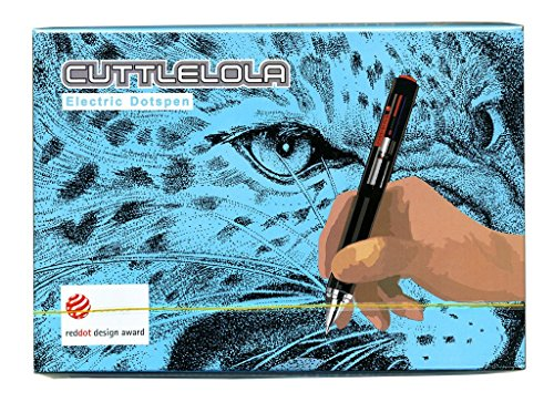 Cuttlelola Dotspen World's First Electric Drawing pen for Illustrator,stippling,zentangle