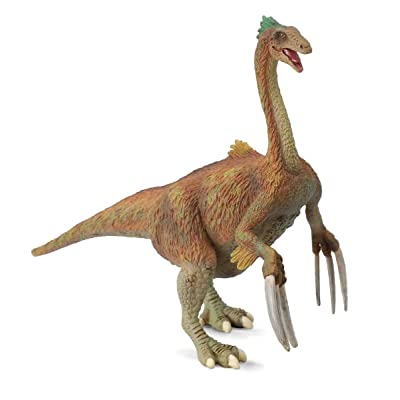 CollectA Prehistoric Life Therizinosaurus Toy Dinosaur Figure - Authentic Hand Painted & Paleontologist Approved Model: Toys & Games