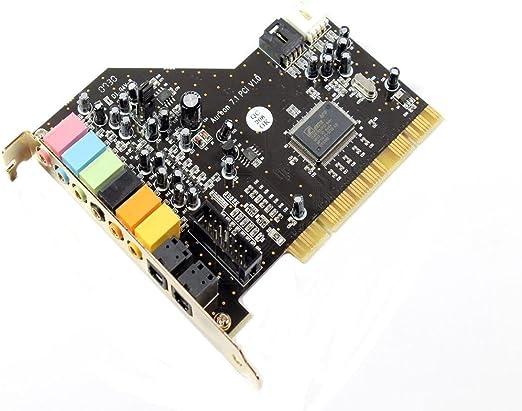Terratec Aureon 7 1 Pci Express C Media Cmi8768 Chipsatz Sound Karte Xr088 Computers Accessories