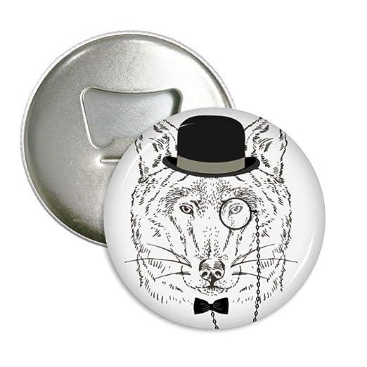 Compra DIYthinker Estilo británico Suave con el Sombrero del Lobo ...