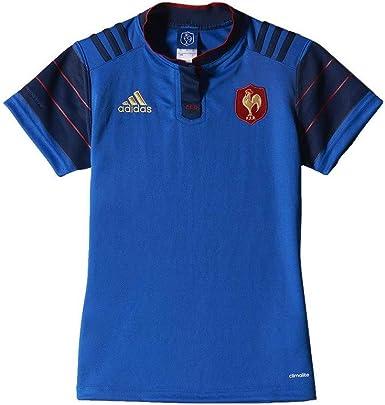 adidas Performance:Camisa equipo nacional francés Rugby Mujer FFR H JSY W Azul S88859