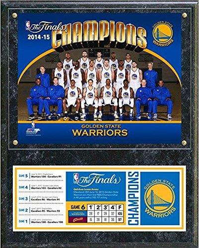 Golden State Warriors 2015 NBA Finals Champions Photo Plaque (Size: 12