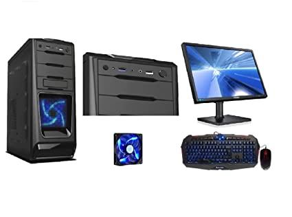 Rgdigital pc desktop computer amd quad core alantik cami con