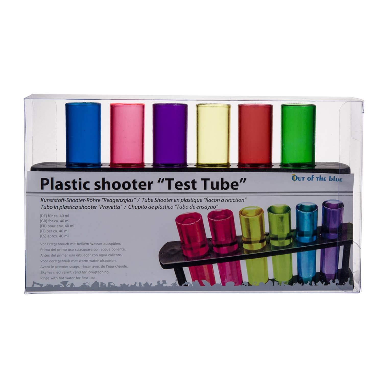 OOTB 93//2072/ /Tubo di plastica Shooter Vetro provetta