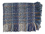 Bedford Cottage Ombre Throw Blanket, Blue