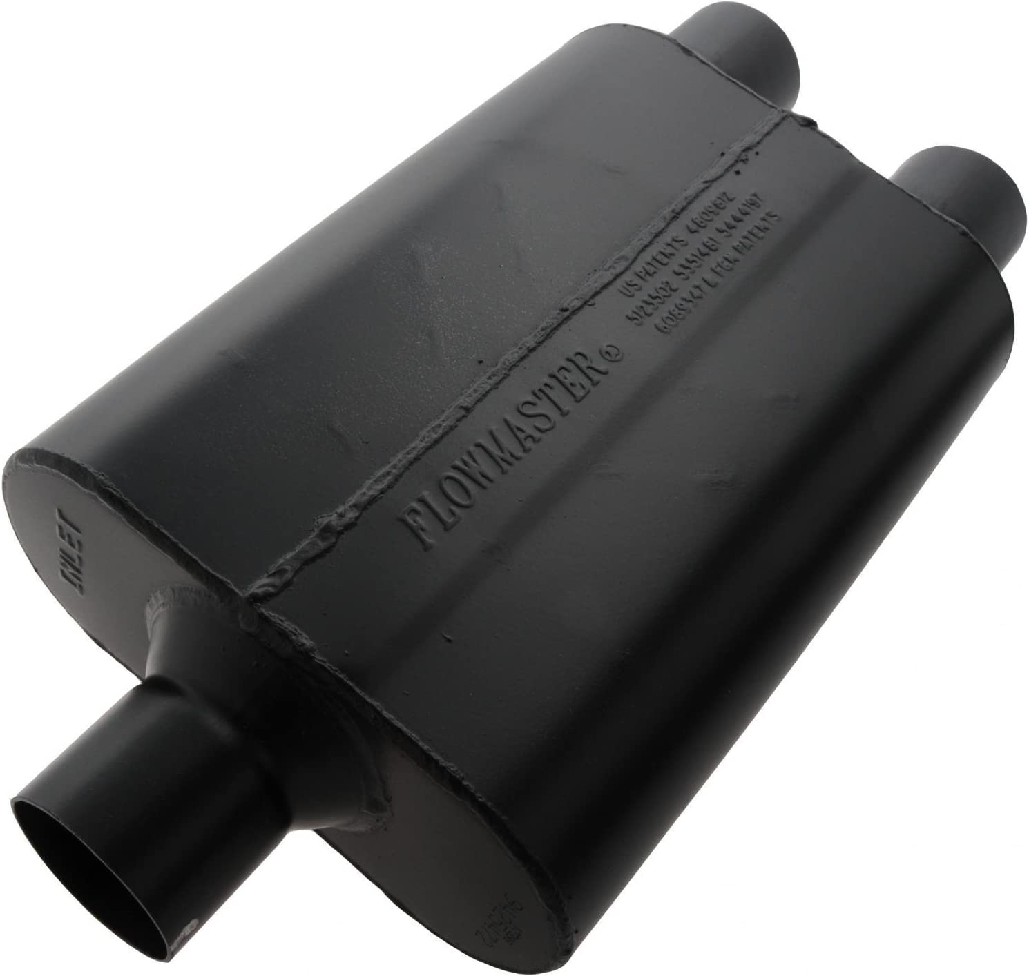 Flowmaster 9425472 Super 44 Muffler 2.50 Center IN 2.50 Dual OUT Aggressive Sound