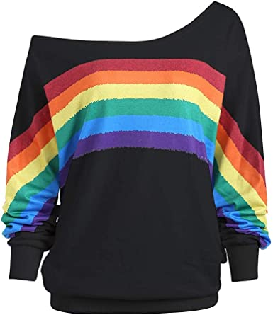 Pack of 4 Rainbow tops