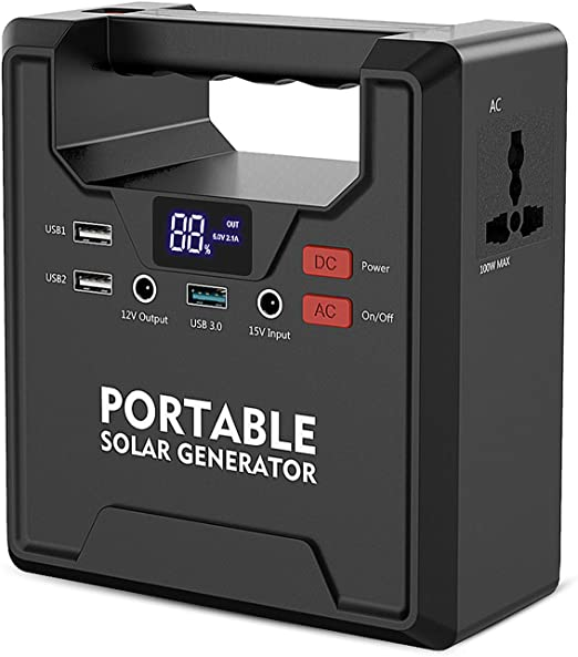 AC Outlet for Outdoors Camping Fishing Emergency X-DRAGON Portable Power Station 200Wh 54000mAh Solar Camping Generator Lithium Iron Battery Backup Pack Power Supply with 230V//200W Peak 250W