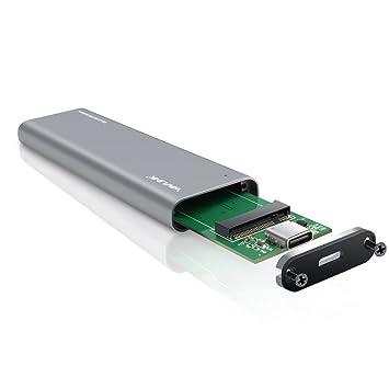 ONCHOICE M.2 SSD Caja de Disco Duro, USB Adaptador de c Case a M.2 (