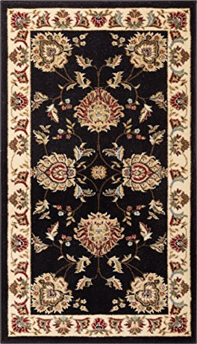 - Well Woven Timeless Abbasi Black Traditional Area Rug 2'3