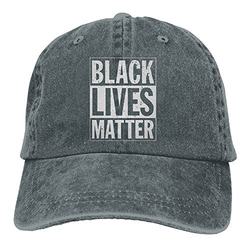 Sudaclose TeeStars - Black Lives Matter - Freedom Civil Rights Justice Woman's Mans Hat Snap-Back Hip-Hop Cap Baseball Hat Head-Wear Cotton Snapback Hats - Victoria Outfits Justice