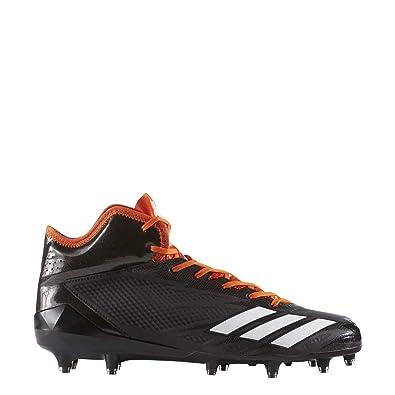 size 40 ed91c 811d9 adidas Adizero 5-Star 6.0 Mid Cleat - Mens Football 10 Core BlackWhite