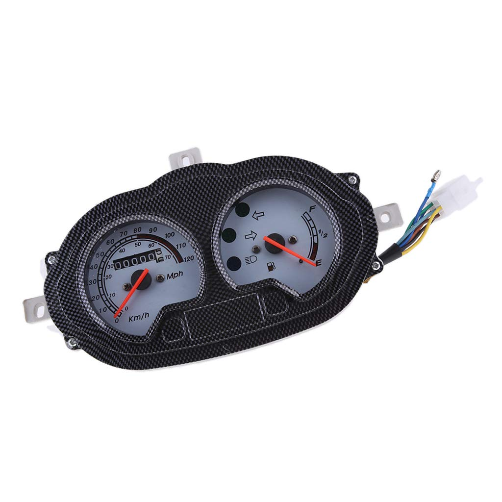 Baosity Scooter Speedometer Dash Instrument for B05 B08 CPI Hussar KEEWAY RY8 F-ACT
