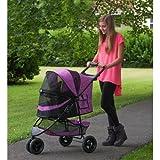 Pet Gear No-Zip Special Edition Pet Stroller, Zipperless Entry, Orchid