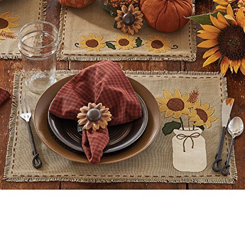 Sunflower Blooms Placemat- Set of 4