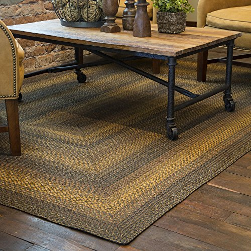 Home Spice Jute Braided Rugs Rectangle Salem 6 x9