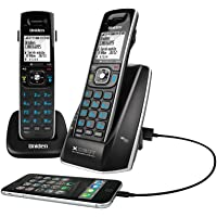 UNIDEN XDECT 8315+1 2 HANDSETS CORDLESS TELEPHONE DIGITAL BLUETOOTH BLACK OUTS
