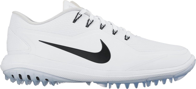 0ceb67c5f85624 Amazon.com | Nike New Mens Lunar Control Vapor 2 Golf Shoes White/Black/ Platinum Sz 12M | Golf