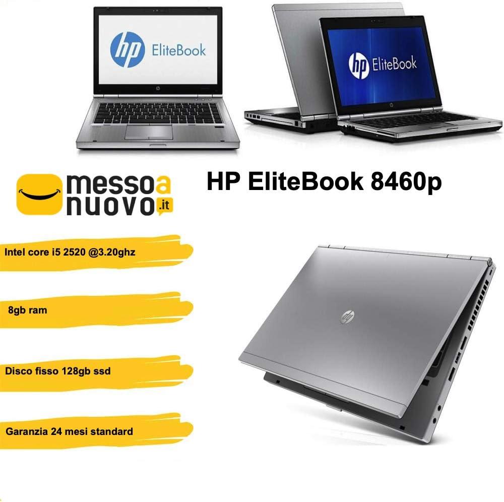 HP EliteBook 8460p Notebook Intel Core i5 2X 2,5 GHz 8 GB de RAM ...