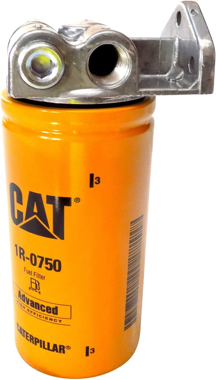 Amazon.com: Wix 24770 Fuel Filter Base & CAT 2 Micron Fuel Filter  (1R-0750): AutomotiveAmazon.com