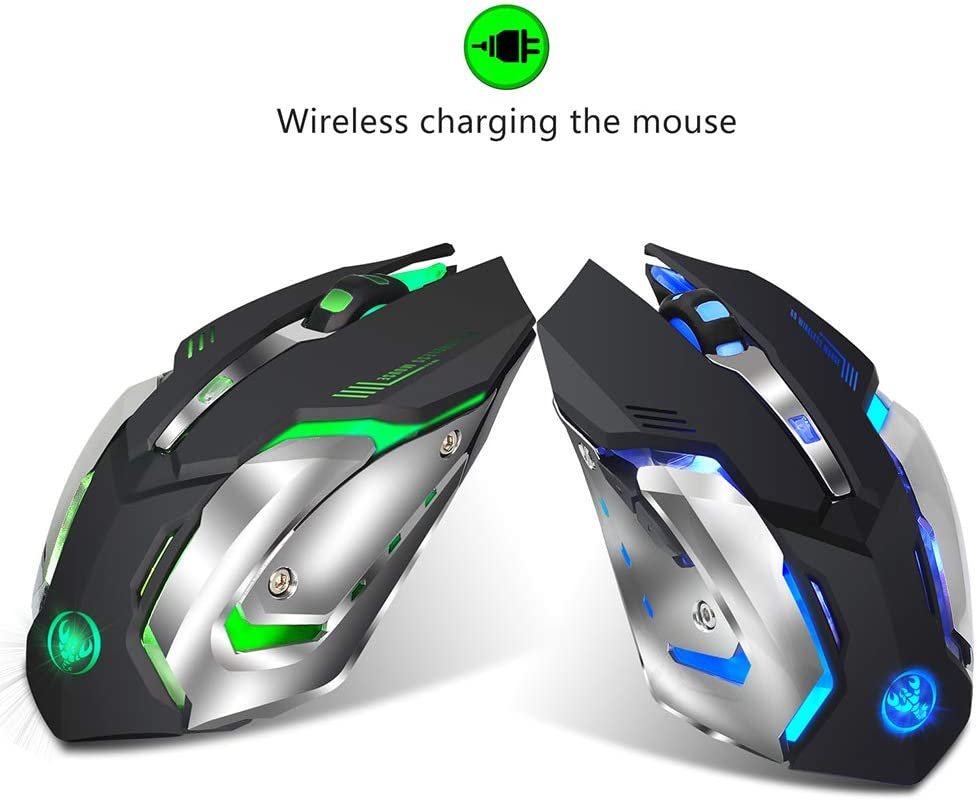 KKSY Mouse Substantial ergonomics Fashionable Customizable 1600//2400 PPI Office Games for Mac and Windows