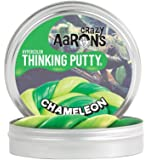 【 温めると色の変化!のある シリコン製パティ 】 Crazy Aaron's Putty World シンキングパティ ハイパーカラー シリーズ EU安全規格適合 内容量90g レギュラーサイズ Made in USA 日本正規代理店品 【 カメレオン 】 CH020