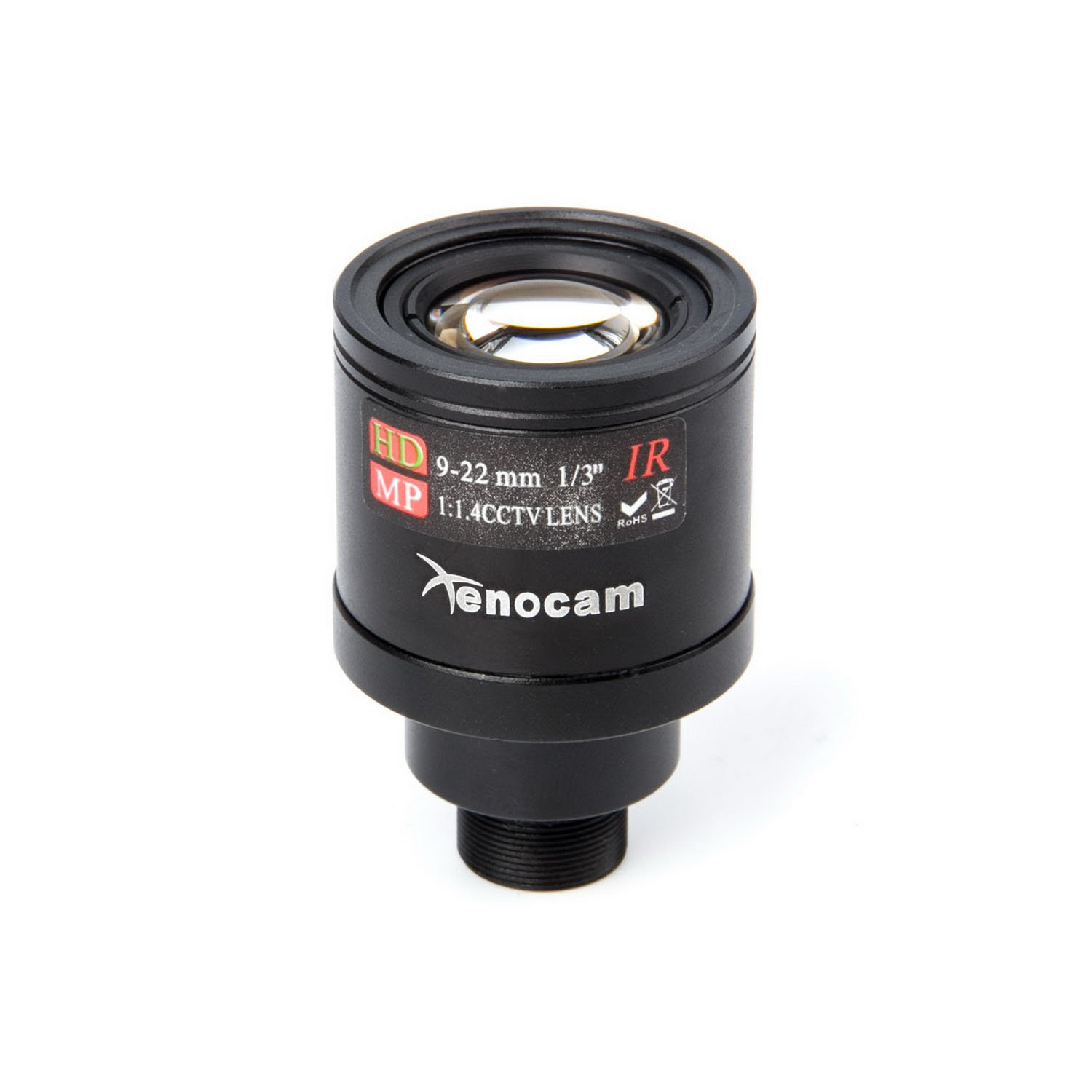 Xenocam 9-22mm 1/3'' IR F1.4 CCTV Video Vari-Focal Zoom Lens for CCTV Security Camera by Xenocam