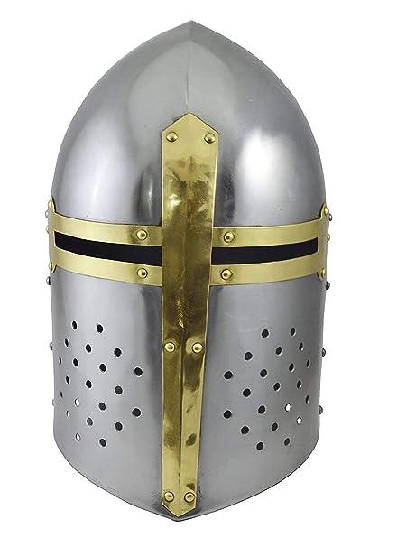 IOTC Sugarloaf Armor Helmet Great Helm Crusader Helmet
