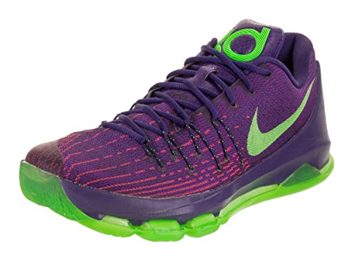 f0c2c411dee2 Nike KD 8 Men US 11 Purple Basketball Shoe  Buy Online at Low Prices in  India - Amazon.in